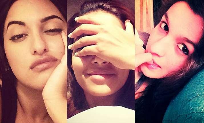 sonakshi alia priyanka divas flaunt their early morning