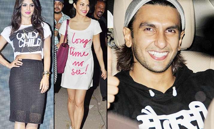 slogan t shirts bollywood celebs latest effortless styling