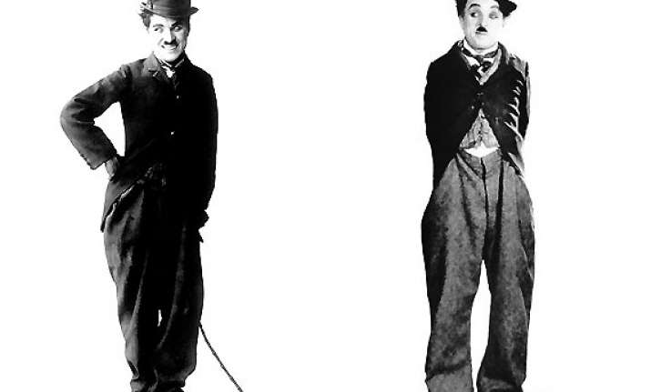 charlie chaplin comedian s iconic outfit to be put on