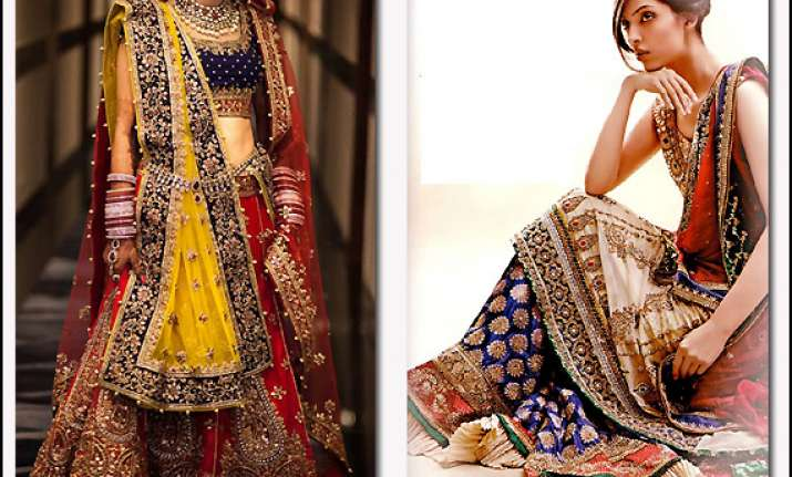 try out unique colors for bridal wear this wedding season