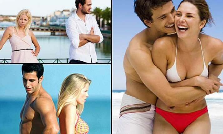 five reasons why couples argue on holiday see pics