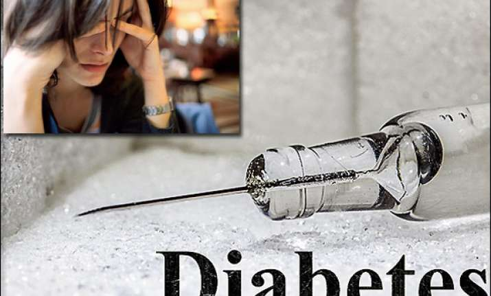 chronic stress factor in diabetes development in indians