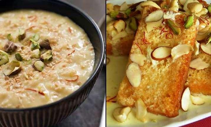 Eid special recipes enjoy making paneer jalebi shahi tukda sheer eid special recipes enjoy making paneer jalebi shahi tukda forumfinder Choice Image