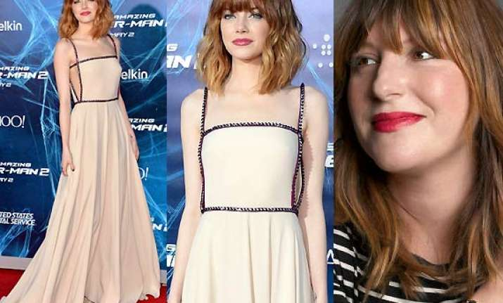 emma stone s red carpet styling secrets revealed see pics