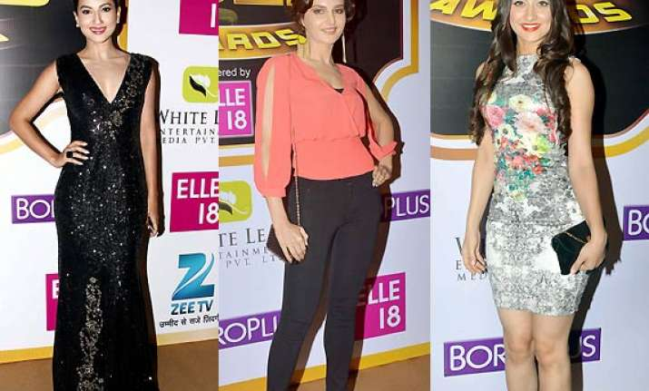 gauahar monica sanjeeda in their arresting avatars at zee