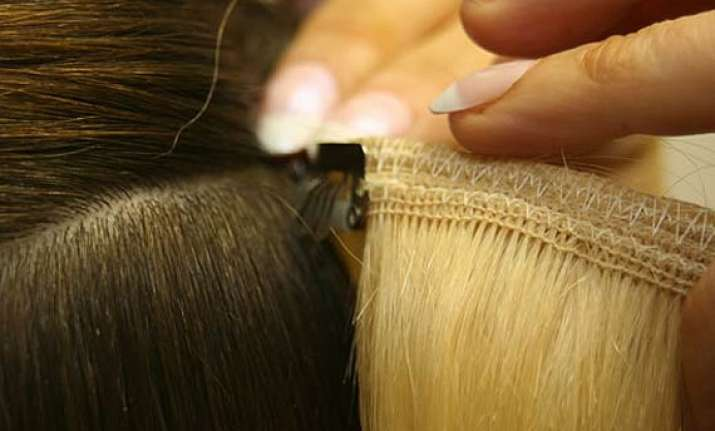women prefer to keep hair extensions a secret survey see