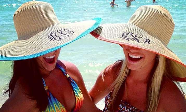 holiday fashion sun hats see pics