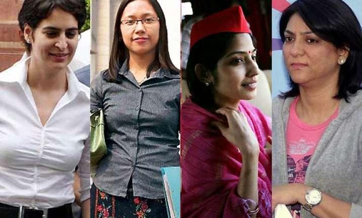 priyanka priya agatha dimple stunning female politicians in