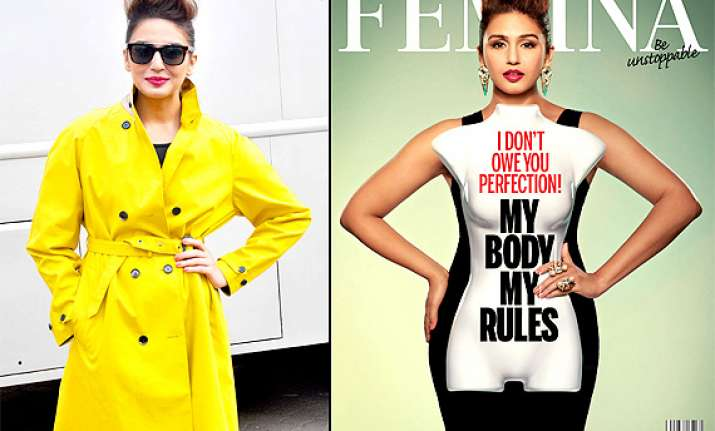 huma qureshi takes stand on an imperfect body covers femina