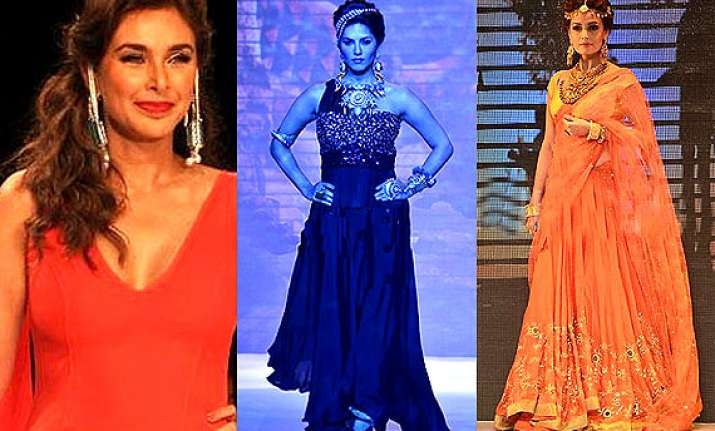 iijw 2014 day 1 sunny leone lisa ray dia mirza spill their