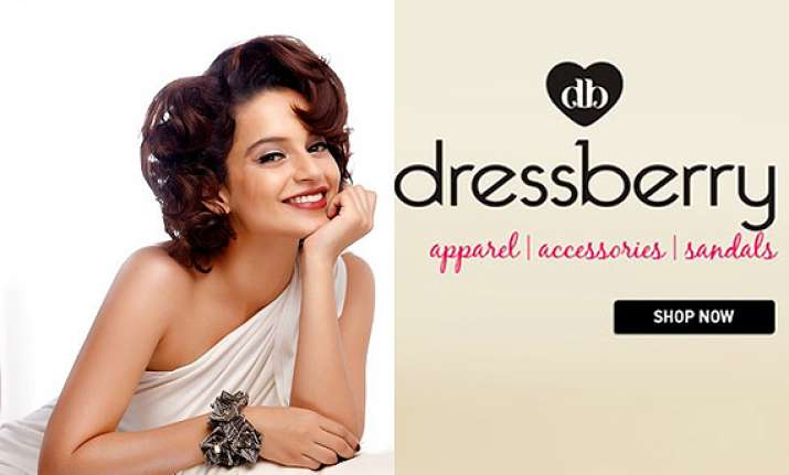 kangana ranaut roped in as face of myntra s dressberry