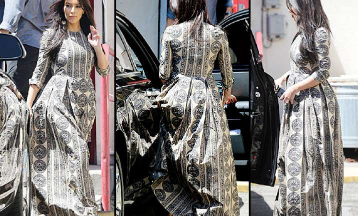 hot kim kardashian gives her most covered up appearance yet