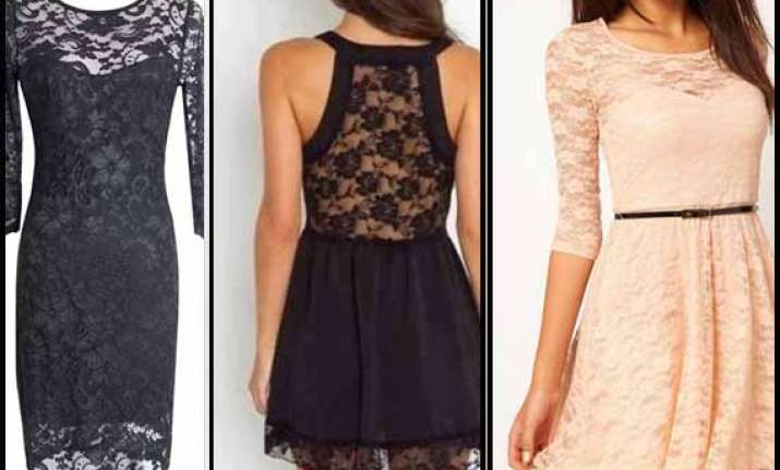 lace dresses in trend this spring