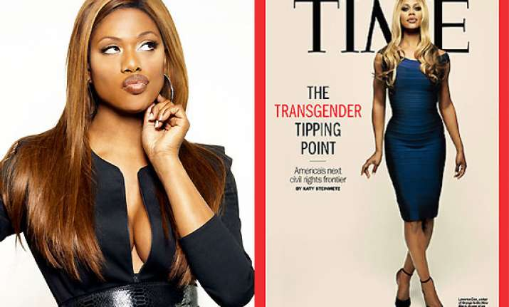 laverne cox becomes first transgender to be on time cover