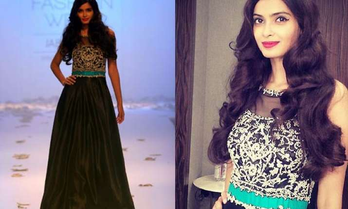 diana penty enlivens the ambience as showstopper for rocky