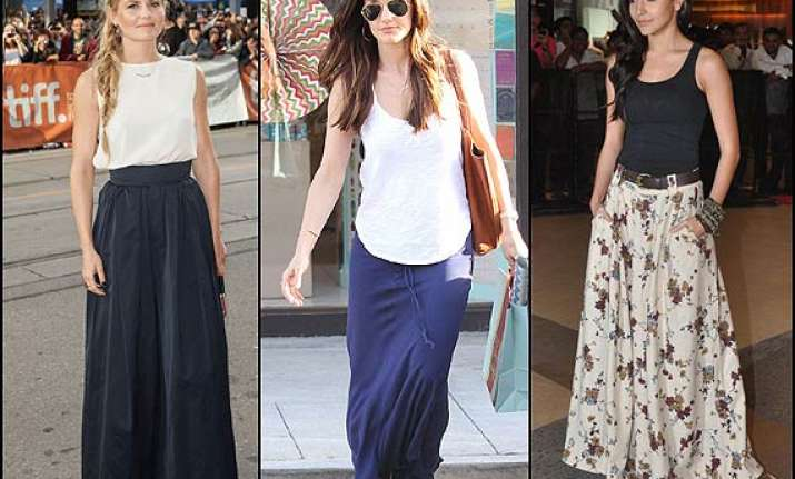 summer trend 2014 try maxi skirts see pics