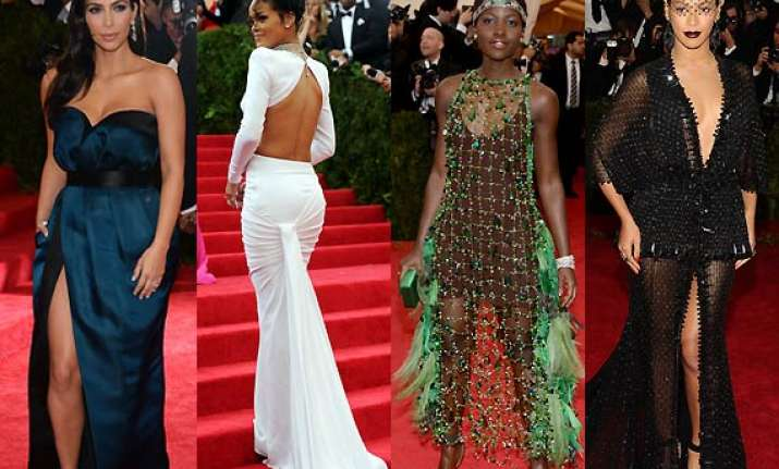 hollywood fashionistas who made heads turn at met gala 2014