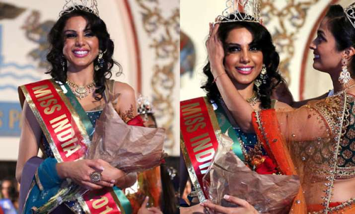 monica gill crowned miss india worldwide 2014