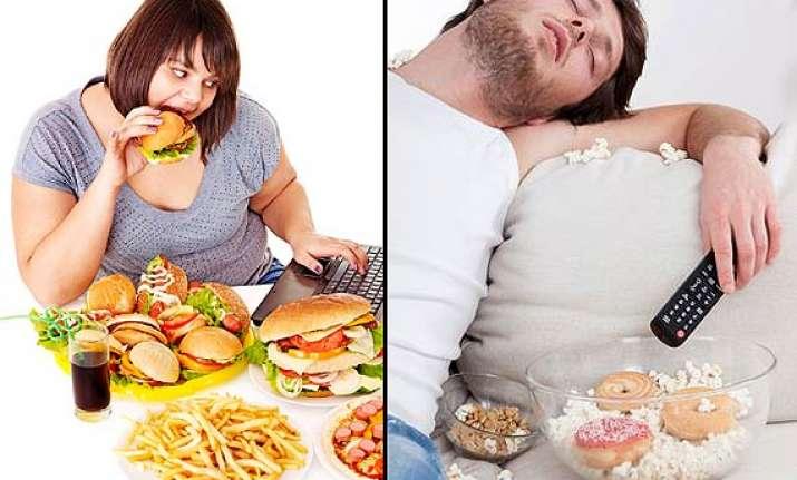 junk food makes people lazy see pics