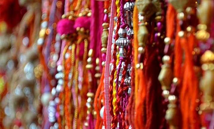 Raksha Bandhan  Buy online rakhis this year (view pics)  b7ab60973