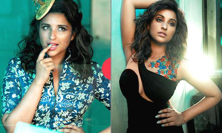 gorgeous parineeti chopra flaunts her curvaceous frame for