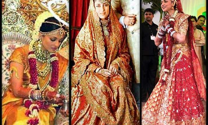 bollywood beauties real life bridal avatars view pics