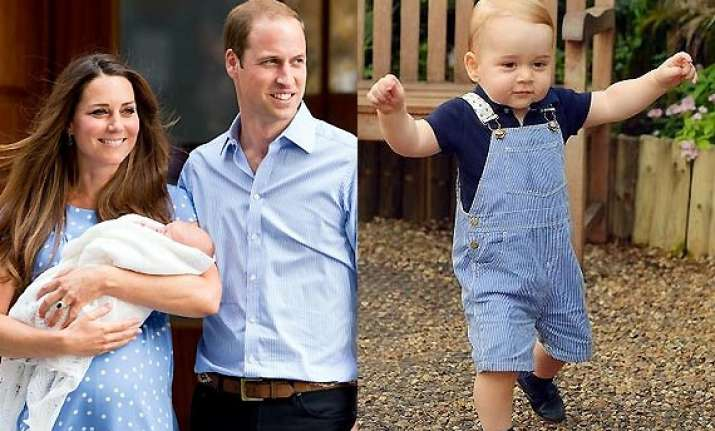 birthday boy prince george starts walking see pics