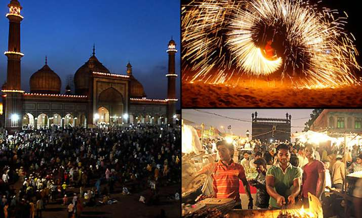 ramadan celebrations spicy aroma of kebabs and curries in