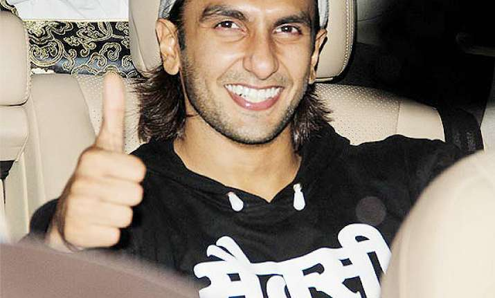 after condoms ranveer singh endorses roadster jeans at