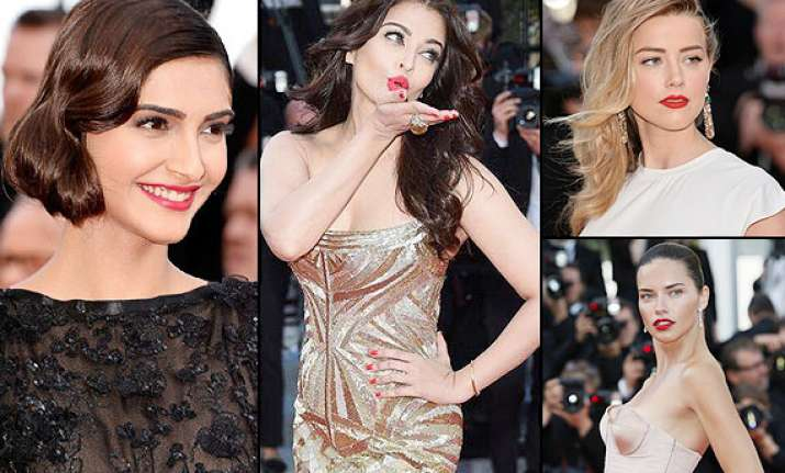cannes 2014 hot red lips set a new trend on the red carpet