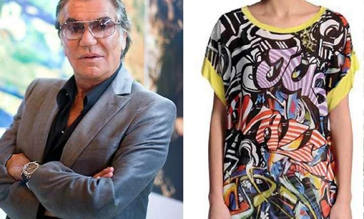 designer roberto cavalli sued for copying street artist s