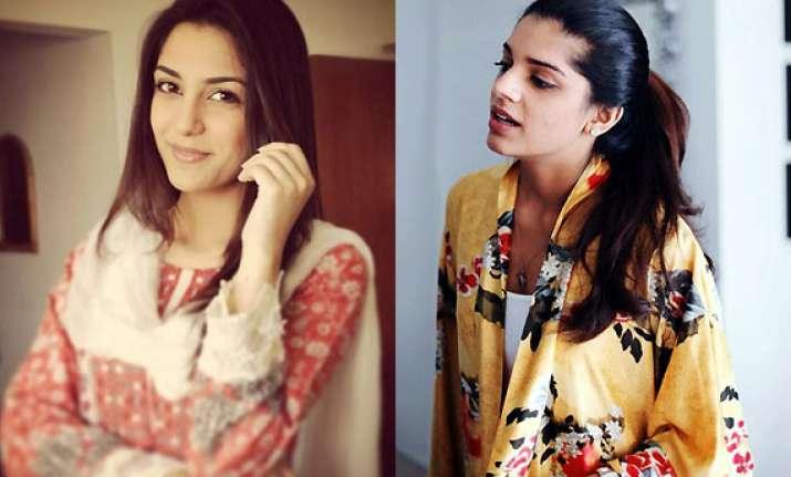 sanam saeed maya ali pakistani divas ruling indian fashion