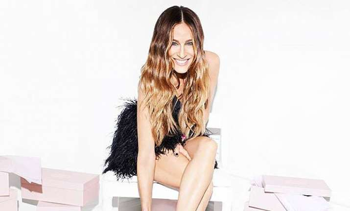 hollywood actress jessica parker nervous about her shoe