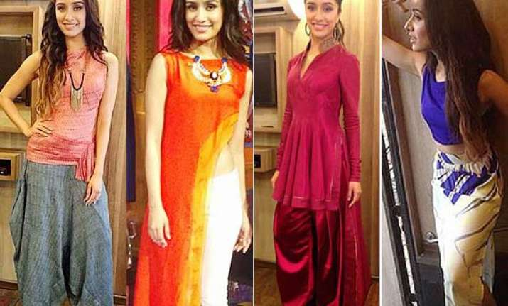 a look at shraddha kapoor s ek villain promotion outfits