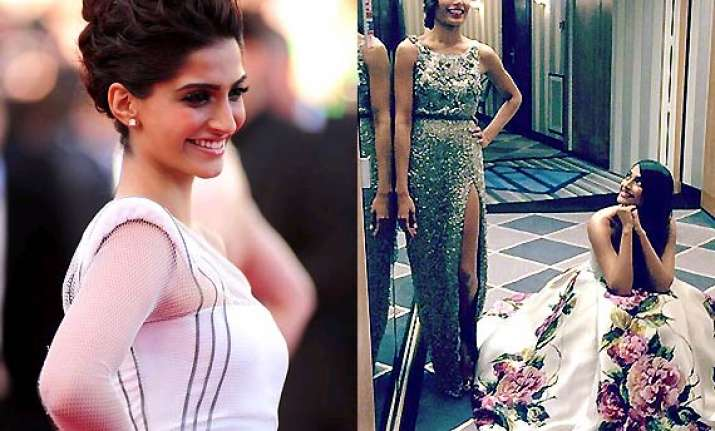 sonam kapoor to promote desi brands at cannes 2014 red