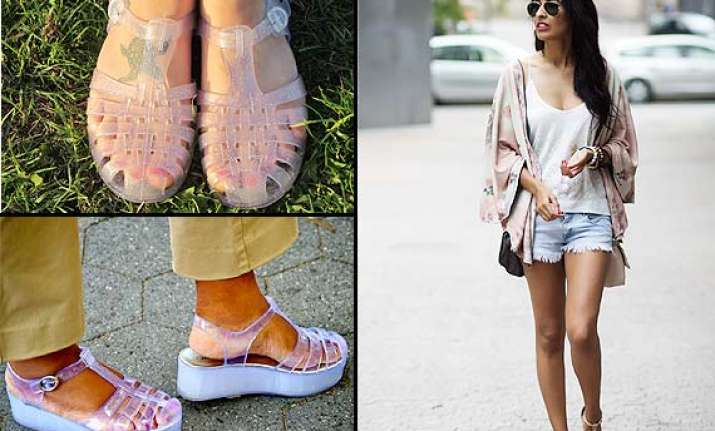 kimonos jelly sandals must have for your holiday wardrobe