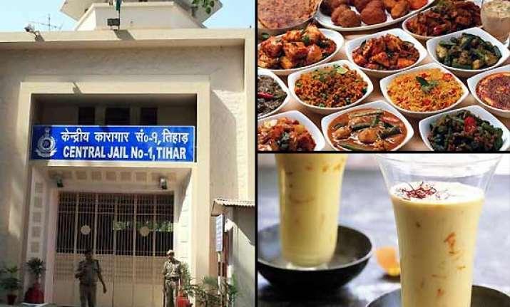 inside tihar jail savour kesar lassi dahi bhalla shahi