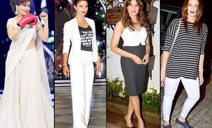 priyanka bipasha madhuri huma went fashionably wrong this