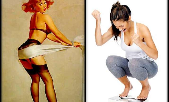 women use odd ways to look slim survey view pics