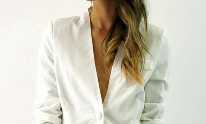 2014 style staple white blazer see pics