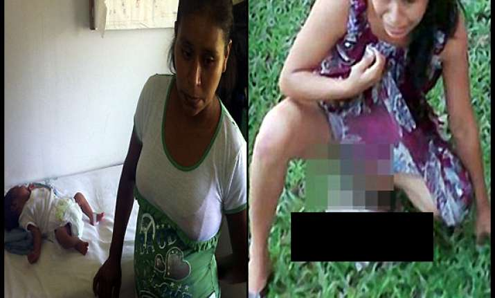 shameless mexico women forced to give birth on grass after
