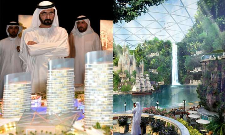 world s largest mall with theme park 100 hotels and