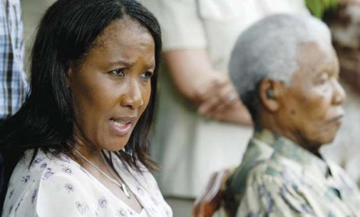 anything is imminent as mandela very critical daughter