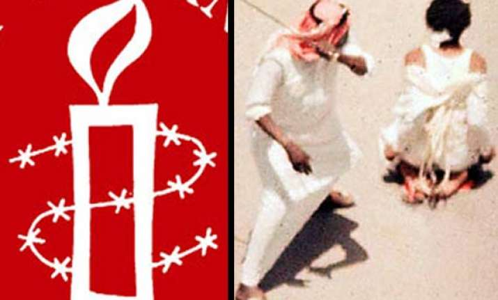amnesty condemns sharp rise in saudi beheadings