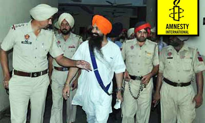 amnesty welcomes reprieve for balwant singh
