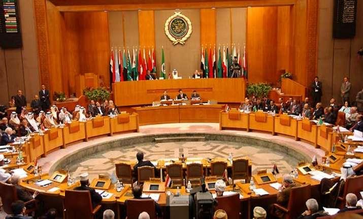 arab league suspends syria calls for sanctions