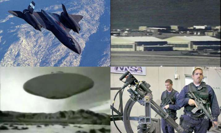 area 51 is secret us military base in nevada desert does it