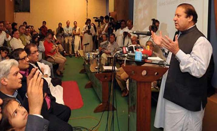 army control on foreign policy should end demands nawaz