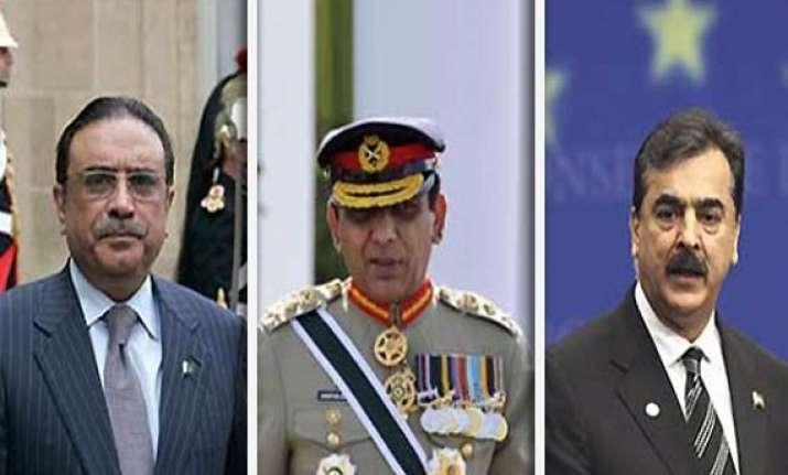army govt face off in pak apex court over memogate scandal