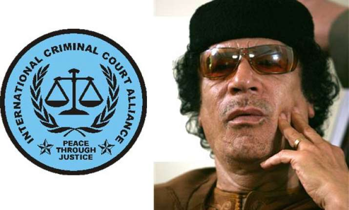 arrest warrant issued for gaddafi icc judge